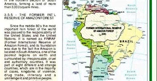 Amazônia pertence aos EUA - Qual a verdade e de onde saiu essa história - Capa