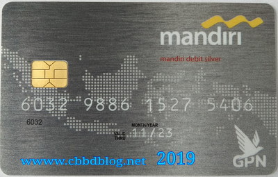 Atm mandiri silver terbaru pakai chip 2019