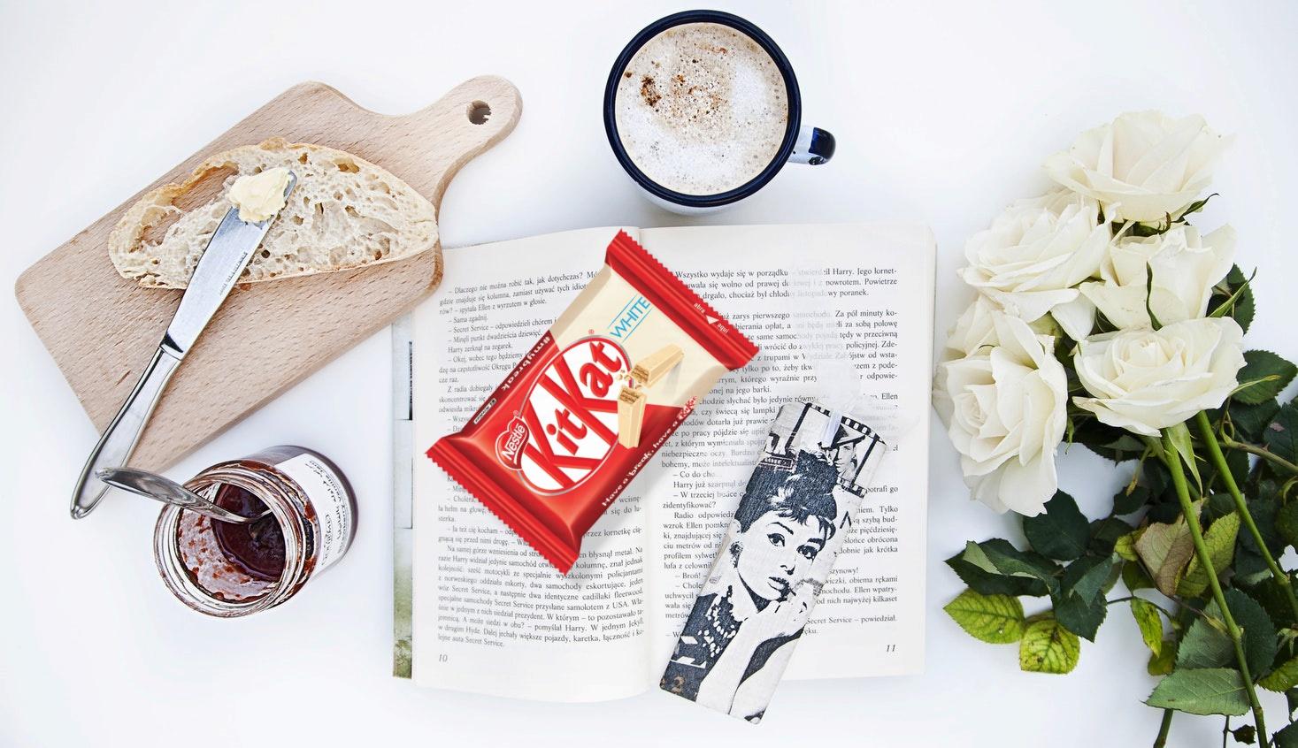 Probando KitKat White - Kuvut