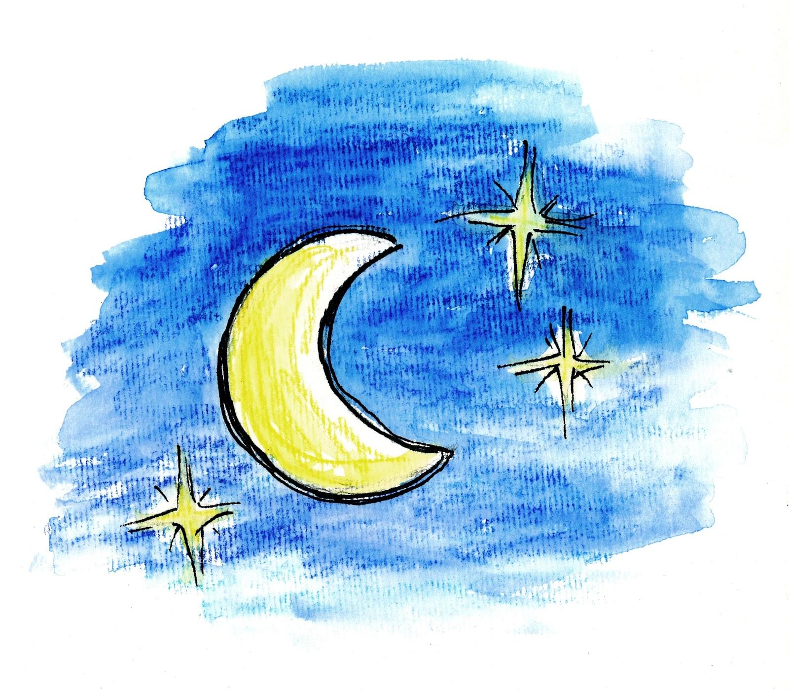 Luna Disegno Tu 6 Bellezza