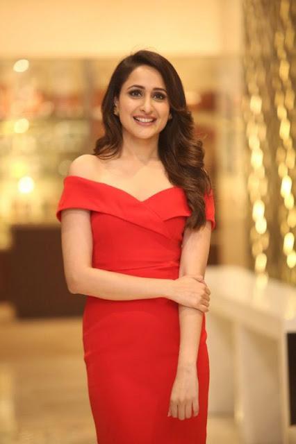 Pragya Jaiswal Latest Photoshoot Stills In Red Dress Actress Trend