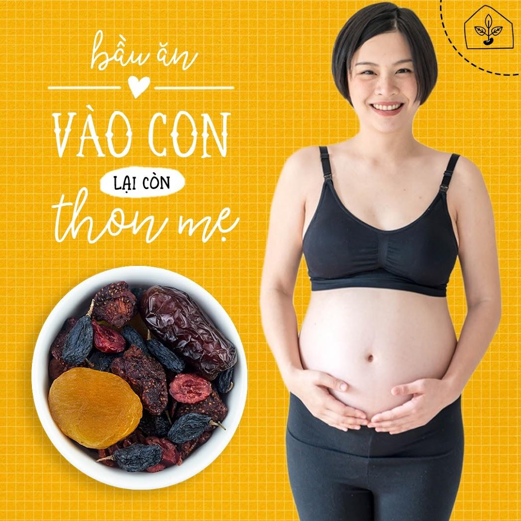 [A36] 5 loại hạt bổ dưỡng Mẹ Bầu tháng thứ 4 nên ăn