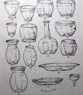 Ancient Russ Glassware
