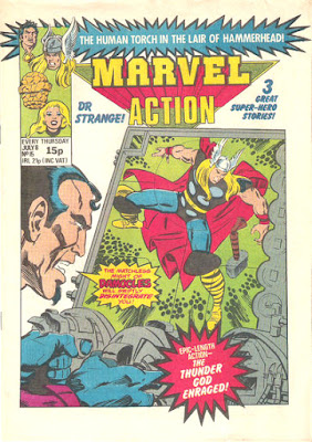 Marvel Action #15, Damocles