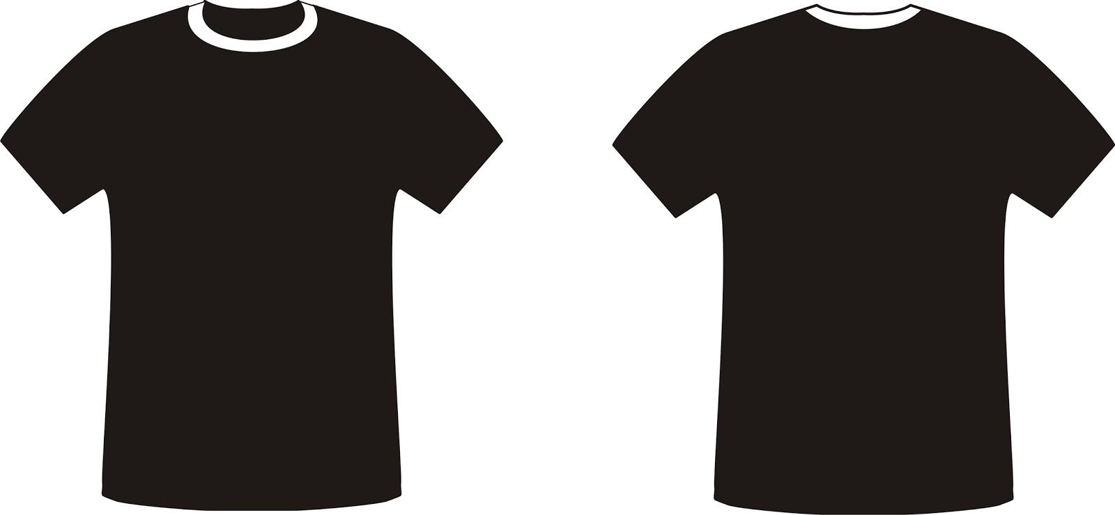 Ide 15 Contoh Kaos Polos Warna Hitam