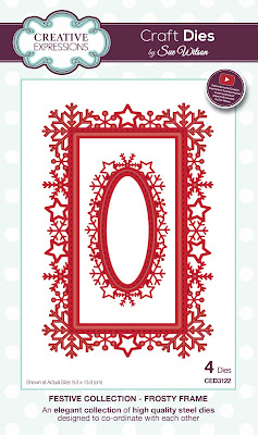 Festive Collection Frosty Frame Dies - CED3122