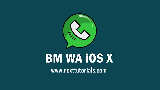 BM WA iOS X v8.93.1 Apk Mod Latest Version Anti Banned,install Aplikasi BM WhatsApp iOS For Android,whatsapp mod terbaru 2021,download tema bm wa ios x3 keren