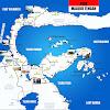 Peta Sulawesi Tengah lengkap 12 Kabupaten dan 1 Kota
