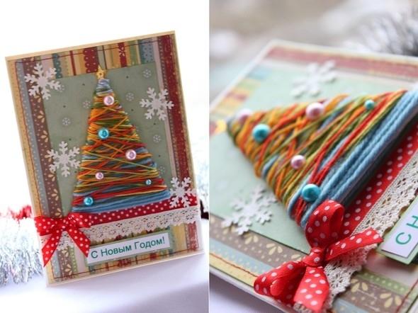 Подарки и открытки на новый год своими