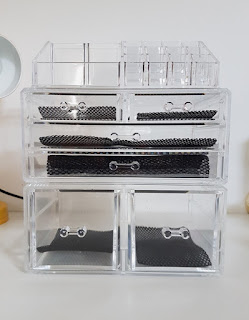 Three Layer Cosmetic Organiser