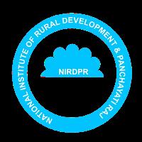 NIRDPR Recruitment 2020 - 510 Coordinator, Fellow & Resource Person Vacancy