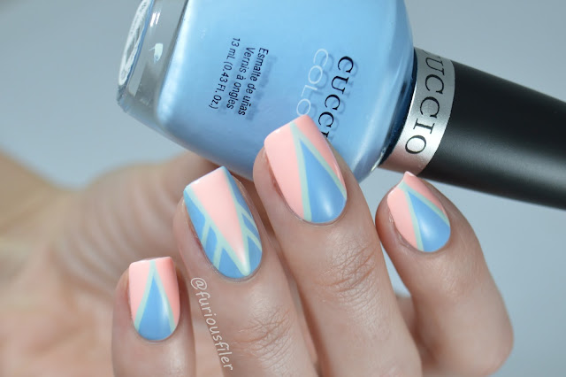 geometric pastel freehand chevrons meebox kawaii art deco