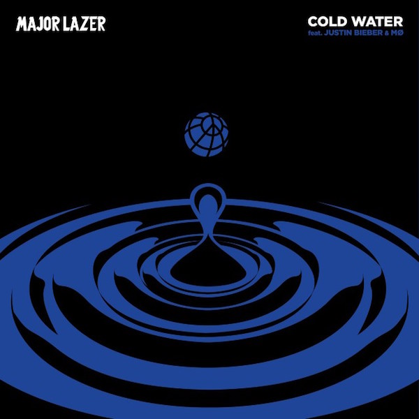 Cold Water Artwork by Major Lazer