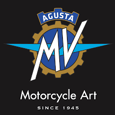 The famous MV Agusta logo familiar to MotoGP fans for more than 20 years