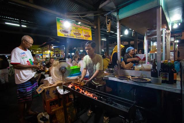 Mercato notturno di Sanur-Bali