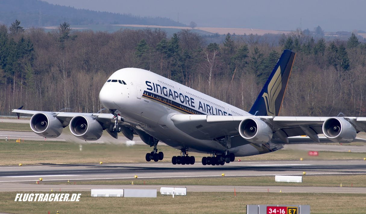 Singapore Airlines - Airbus A380