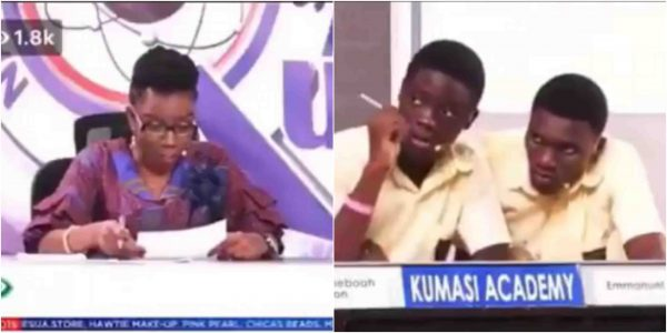 [Video] Ghanaian school competition uses Nigeria as a reference for fraud