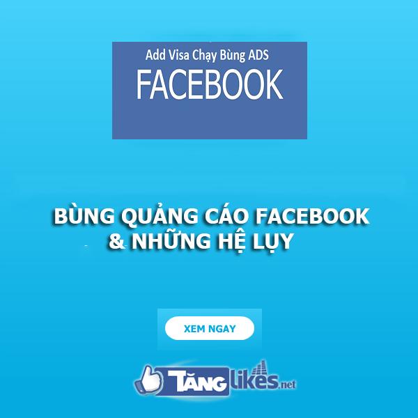 chay bung quang cao facebook