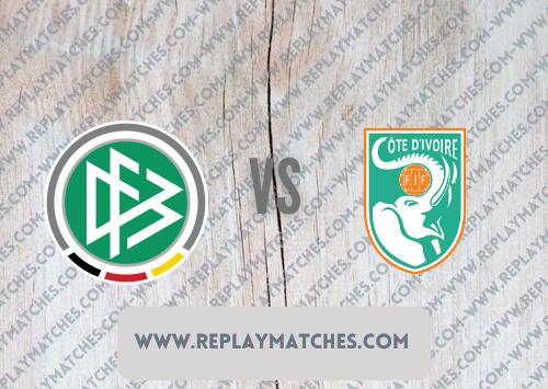 Germany U23 vs Côte d'Ivoire U23 -Highlights 28 July 2021