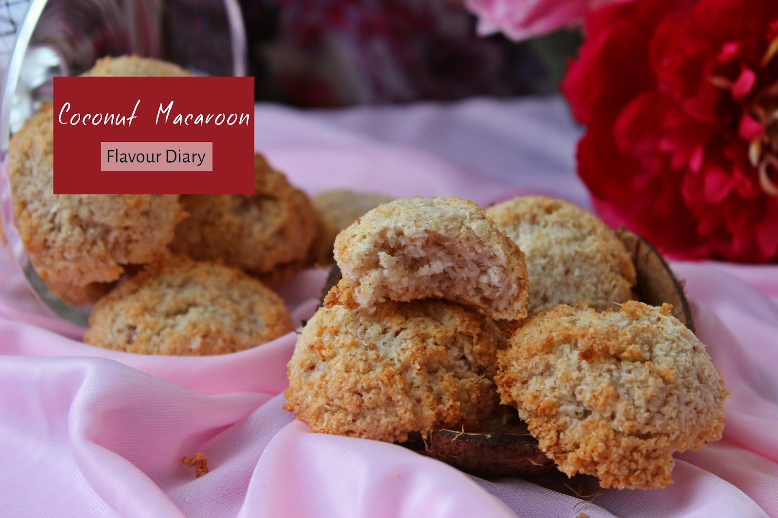 simple easy coconut macaroons recipe