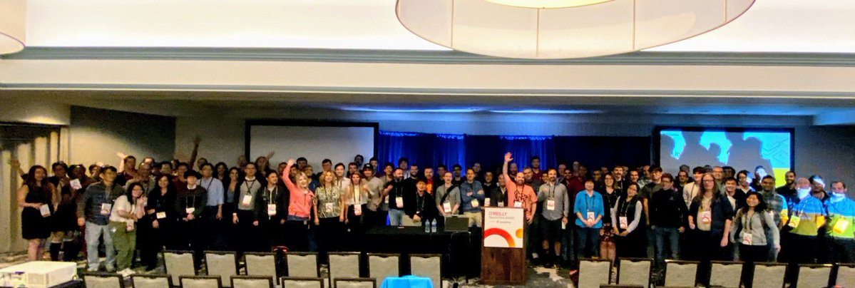 Picture: 1st TensorFlow Contributor Summit, Santa Clara, 2019.