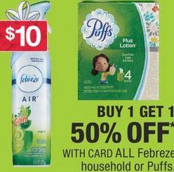 Febreze Air Effects Air Refresher spray