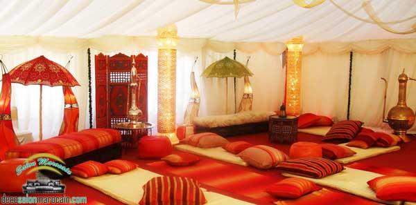 Salon marocain rouge royal - Boutique Salon marocain 2016/2017