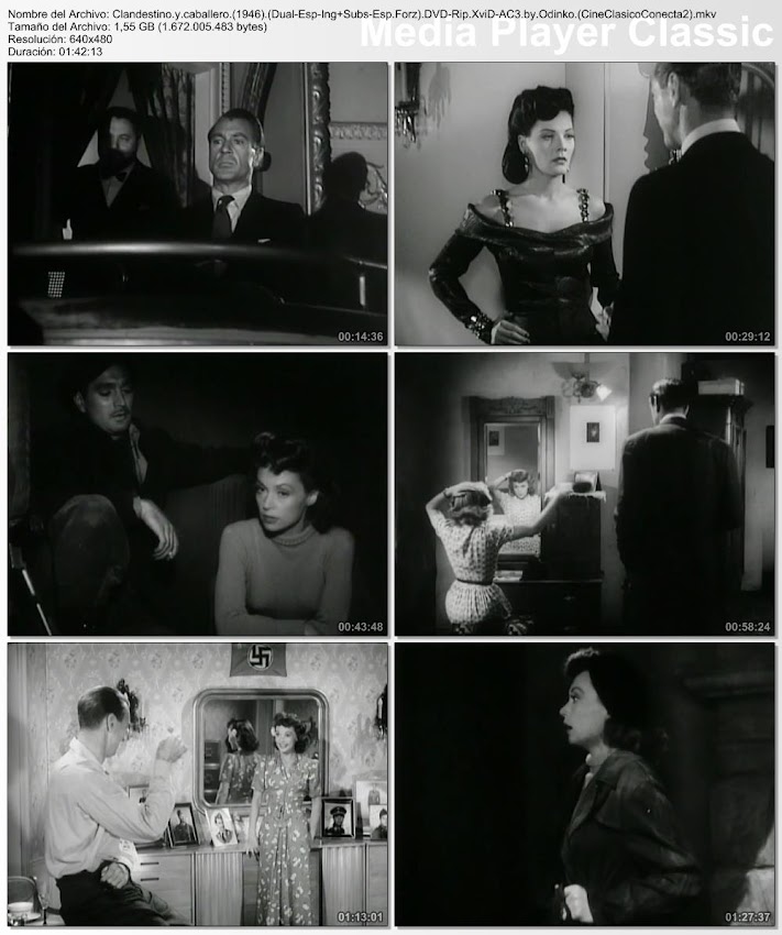 Imágenes de la película: Clandestino y caballero | 1946 | Cloak and Dagger | Cary Cooper, Lili Palmer