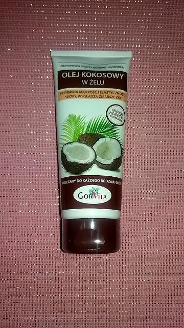 Olej kokosowy w żelu Gorvita