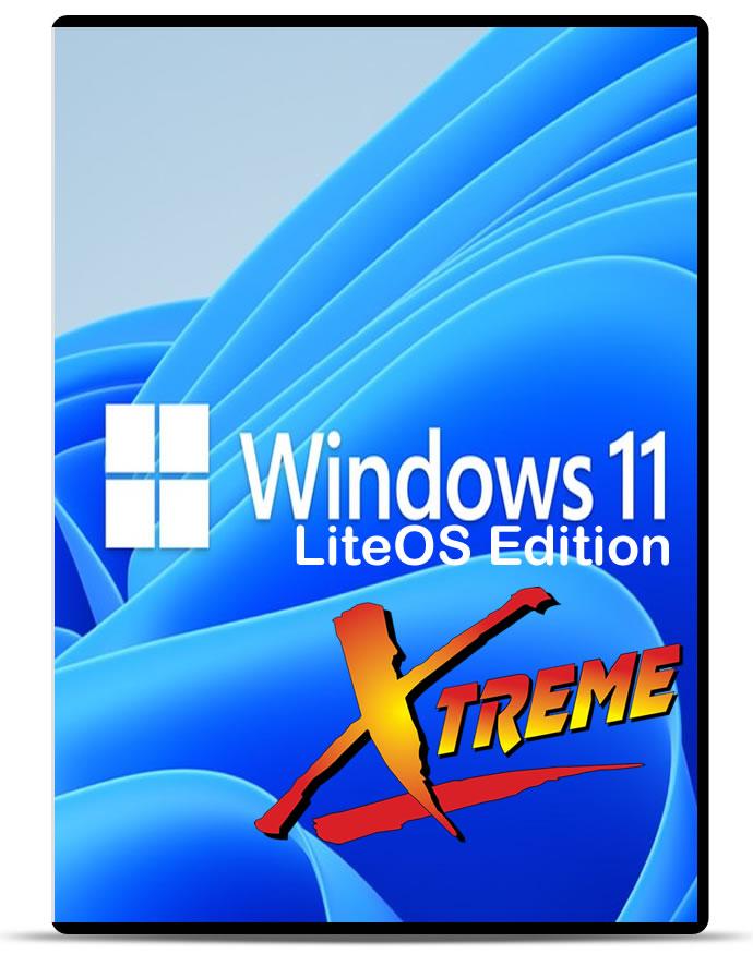 Windows 11 Xtreme LiteOS Edition Build 22000.51 x64 de julho de 2021 Download Grátis