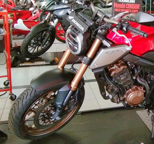 Honda CB650R 2020 price