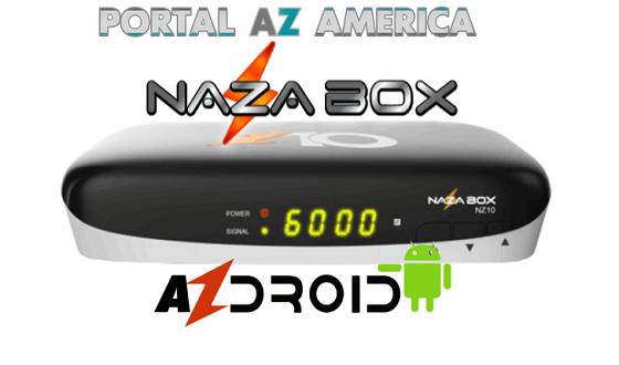 Resultado de imagem para NAZABOX NZ10 PORTAL AZAMERICA