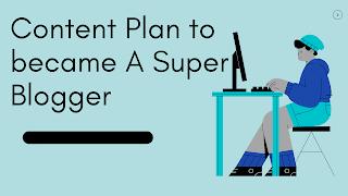 Content plan untuk blog