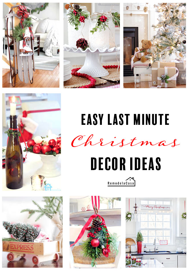 economical ideas for Christmas decor, toys, table toppers, candles, luminaries,