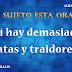 #LunesdeLengua II: ¿Tiene sujeto esta oración?