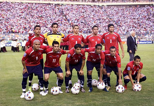 Formación de Chile ante Perú, Clasificatorias Sudáfrica 2010, 29 de marzo de 2009