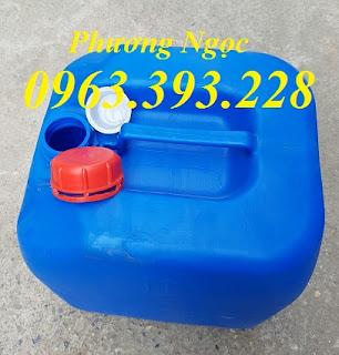 Can nhựa vuông đựng hóa chất, can nhựa 20L, can nhựa 30L E0b4f558449da6c3ff8c