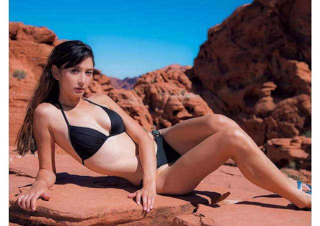Leah Dizon リア・ディゾン Weekly Playboy No 46 2016 Wallpaper HD