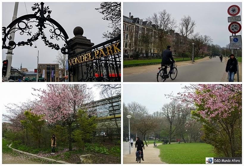 Vondelpark - Diário de Bordo - 2 dias em Amsterdam