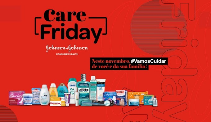 Johnson & Johnson realiza Care Friday com descontos em todas as marcas