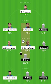 Dream 11 Team