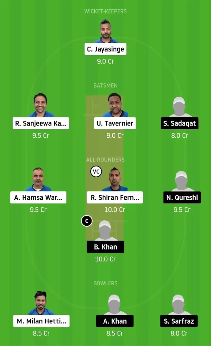VCC vs FPC Dream 11 Team Prediction | Finnish Premier League T20 Today Match Prediction