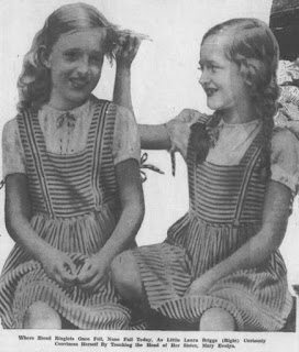 Mary Evelyn Briggs and her sister Laura