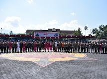 Brigjen TNI Fajar Setyawan hadiri Upacara HUT Brimob yang ke 74