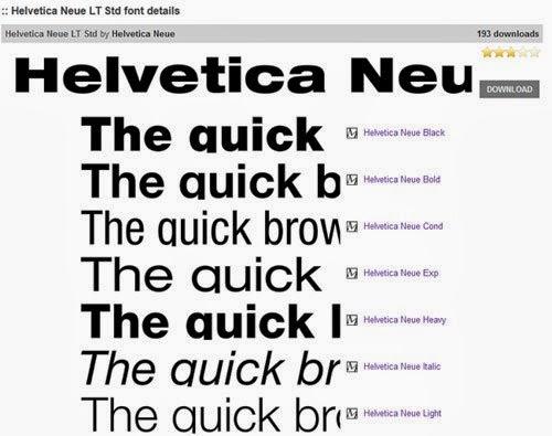 Helvetica Font Windows 8 free download
