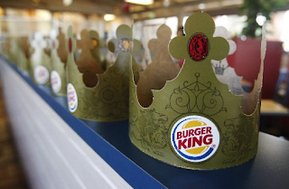 Burger King paper crown