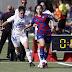 Goleada balsámica del Barça B ante el Oviedo