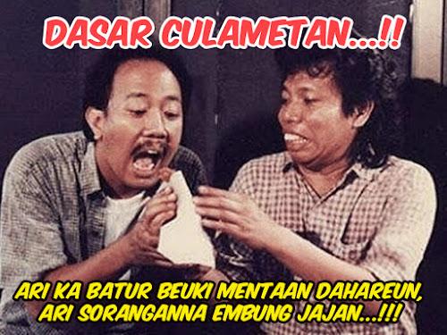 Arti istilah Culametan bahasa Sunda