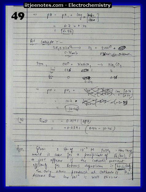 Electrochemistry chemistry4