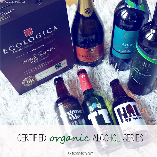 Certified organic alcohol series: reviews and information